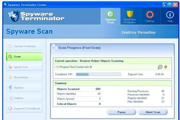 programas antimalwar Spyware Terminator