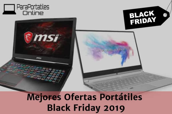 mejores ofertas portatiles black friday 2019