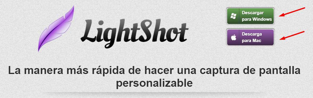 Captura realizada con LightShot