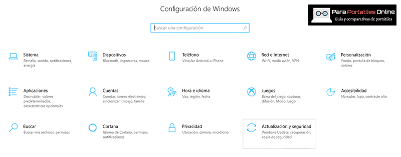 Actualización de seguridad Windows