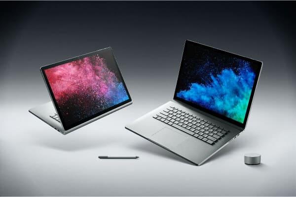 dos ordenadores preparados para trabajar en diseno grafico