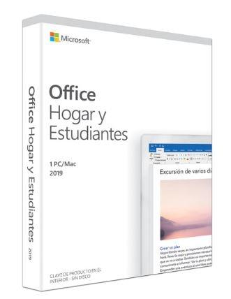 Micrososft Office Hogar y Estudiantes