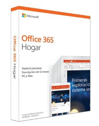 Micrososft Office 365 Hogar