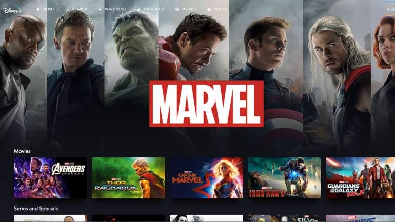 El universo Marvel está en Disney +