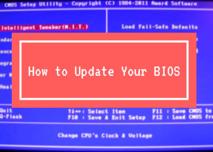 Pantalla de un ordenador donde aparece un mensaje de Bios